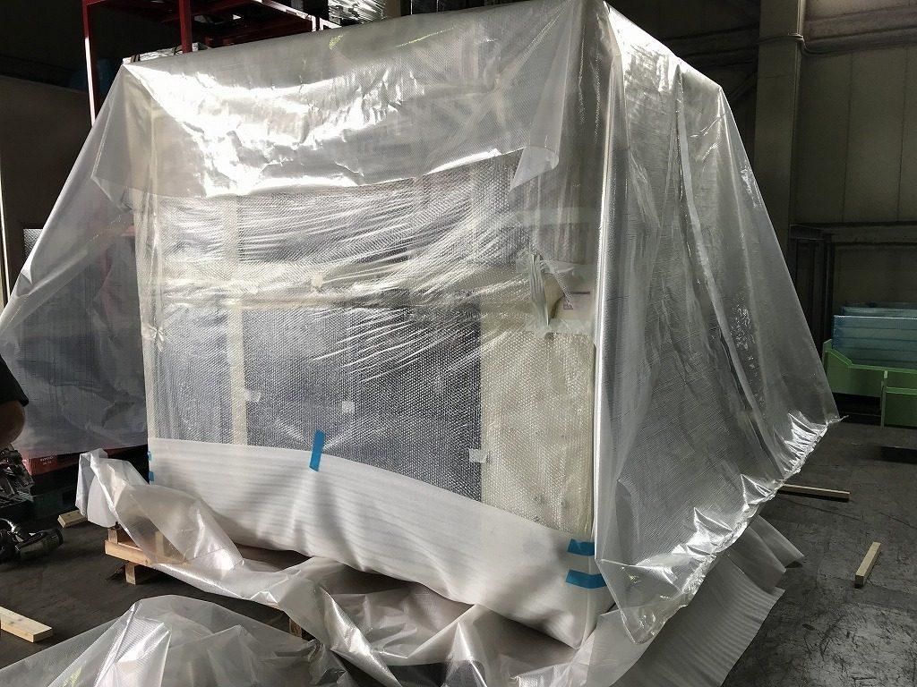 半導体製造装置 梱包作業 20200427